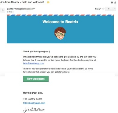 beatrix-welcome-email